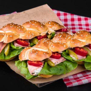 Bavarski sendvič pletenica